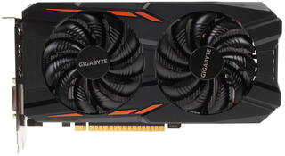 Видеокарта Gigabyte GeForce GTX 1050 Ti WF  [GV-N105TWF2OC-4GD]