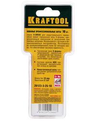 Набор бит KRAFTOOL 26123-3-25-10