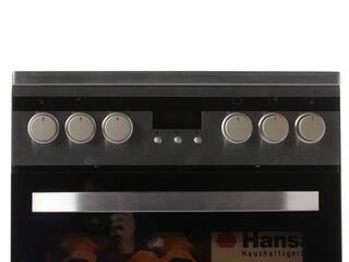 Электрическая плита Hansa FCCX58246 серебристый, черный
