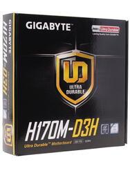 Материнская плата GIGABYTE GA-H170M-D3H