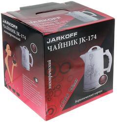 Электрочайник JARKOFF JK-174 белый