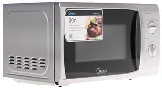 Микроволновая печь Midea MM820CFB-S серебристый