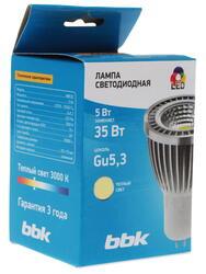 Лампа светодиодная BBK MB53C Gu5.3