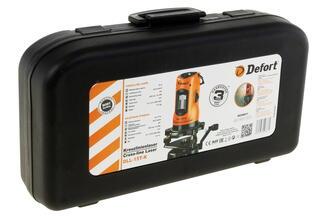 Лазерный нивелир DeFort DLL-15T-K