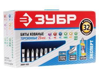 Набор бит ЗУБР 26091-H32