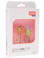 Кабель Nobby 7726 USB - Lightning 8-pin зеленый