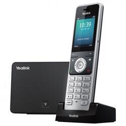 IP-телефон Yealink W56P черный, серебряный
