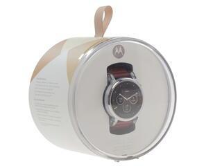 Смарт-часы Motorola Moto 360 серебристый