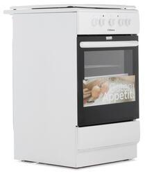 Электрическая плита Hansa FCEW53040 белый, черный