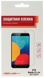 """4.5""""  Пленка защитная для смартфона ZTE Blade Q lux 3G"""