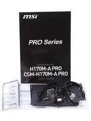 Материнская плата MSI  H170M-A PRO