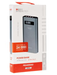 Портативный аккумулятор InterStep PB240004U серый