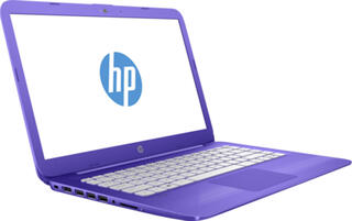 "14"" Ноутбук HP Stream 14-ax001ur фиолетовый"