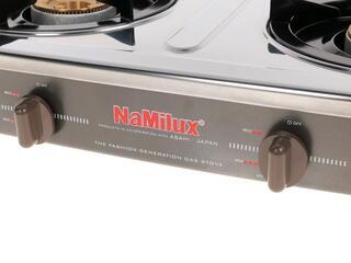 Газовая плитка NaMilux NA590SM серый, серебристый