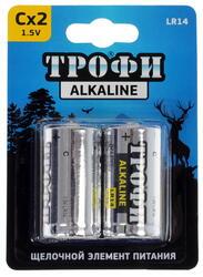 Батарейка Трофи LR14-2BL