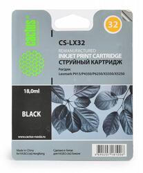 Картридж струйный Cactus CS-LX32