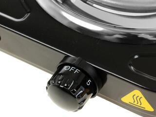 Плитка электрическая Чудесница ЭЛП-802 черный