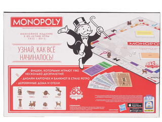 Игра настольная Монополия: Юбилейная
