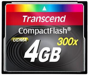 Карта памяти Transcend TS4GCF300 Compact Flash 4 Гб