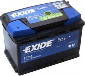 Автомобильный аккумулятор EXIDE EXCELL EB741