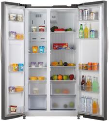 Холодильник SHIVAKI SHRF-600SDS серебристый