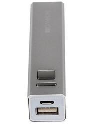 Портативный аккумулятор CANYON CNE-CPB130 + портативный аккумулятор CANYON 2600 mAh серый, белый