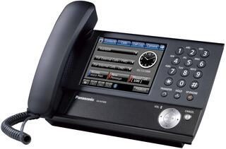 IP-телефон PANASONIC KX-NT400RU черный
