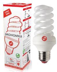 Лампа люминесцентная Экономка SPC 20W E2727