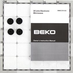 Встраиваемая микроволновая печь Beko MWB 2510 EX серебристый