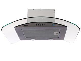 Вытяжка каминная KRONAsteel SABRINA 600 inox/glass PB серебристый