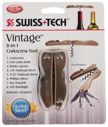 Мультитул Swiss+Tech Vintage Corkscrew Tool Gold