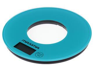 Кухонные весы Maxima MS-067 голубой