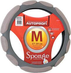 Оплетка на руль AUTOPROFI SP-9029 серый