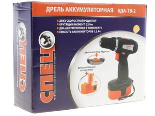 Шуруповерт СПЕЦ БДА-18-2