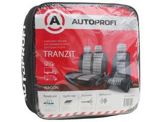Чехлы на сиденье AUTOPROFI TRZ-702 черный