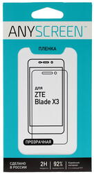 "5""  Пленка защитная для смартфона ZTE Blade X3"