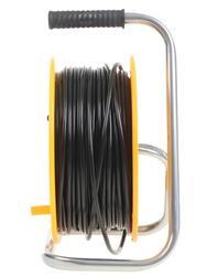 Удлинитель силовой Эра RP-4-2x1-50m желтый, черный