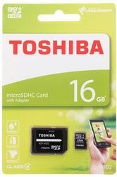 Карта памяти Toshiba M102 microSDHC 16 Гб