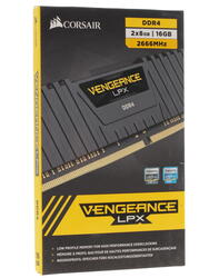 Оперативная память Corsair Vengeance LPX [CMK16GX4M2A2666C16] 16 ГБ