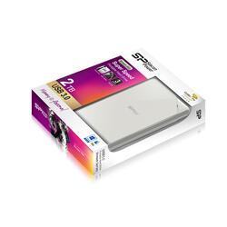 "2.5"" Внешний HDD Silicon Power Stream S03 [SP020TBPHDS03S3W]"