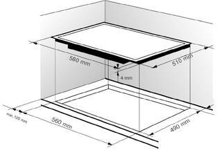Электрическая варочная поверхность Zigmund & Shtain CNS 149.60 BX