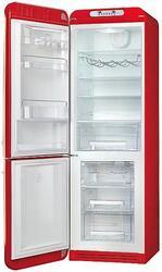 Холодильник с морозильником Smeg FAB32LRN1 красный