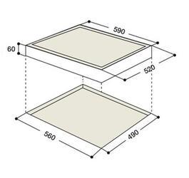 Электрическая варочная поверхность Indesit VID 641 B C