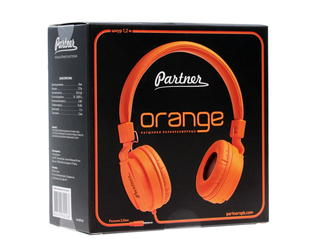 Наушники Partner Orange