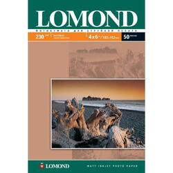Фотобумага LOMOND Односторонняя Матовая