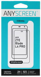 "5""  Пленка защитная для смартфона ZTE Blade L4 Pro"