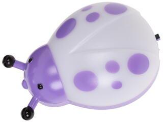 Светильник декоративный Старт NL 1LED Жук белый, фиолетовый