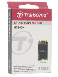 512 ГБ SSD M.2 накопитель Transcend MTS400 [TS512GMTS400]