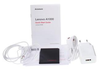 "4"" Смартфон Lenovo A1000 8 ГБ белый"