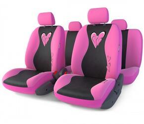 Чехлы на сиденье AUTOPROFI GLAMOUR GLM-1105 розовый